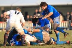 6 2010 saxons för rugby för england italy nationrbs vs Royaltyfri Foto