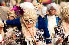 6 2011 karnawałowych Limassol marszu parad Fotografia Royalty Free
