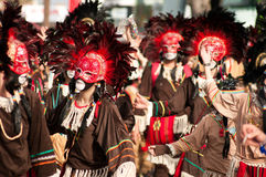 6 2011 karnevallimassol marsch Royaltyfria Foton