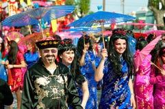 6 2011 karnevallimassol marsch ståtar Royaltyfri Fotografi