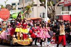 6 2011 karnevallimassol marsch ståtar Royaltyfria Bilder