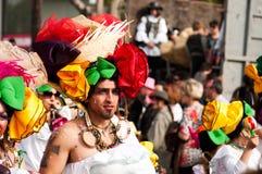 6 2011 karnevallimassol marsch ståtar Arkivfoto
