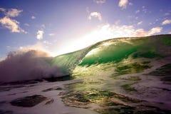 6海浪 免版税库存图片