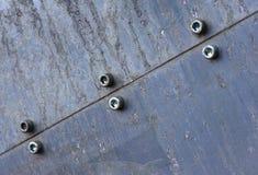 6种金属结构 免版税库存照片