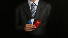 επαγγελματική κάρτα 6 Στοκ εικόνα με δικαίωμα ελεύθερης χρήσης