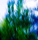 6 abstrakcjonistycznej niebieska związki green Obrazy Stock
