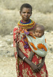 6 afrikanska folk Royaltyfria Foton