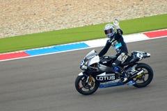 #6 Alex DEBON - de Winnaar van het Ras 250cc stock afbeelding