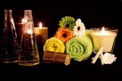 6 aromata serii terapia Zdjęcie Stock