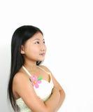 6 asiatiska barnbarn Arkivfoton