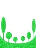 6 Bäume Stockfotos