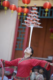 6 balancer κινέζικα Στοκ φωτογραφία με δικαίωμα ελεύθερης χρήσης