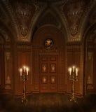 6 baroku pokój royalty ilustracja