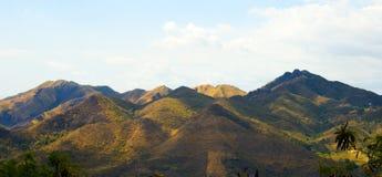6 berg Arkivbilder