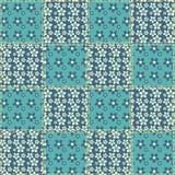 6 bezszwowi wzorów kołdrowych Obraz Royalty Free