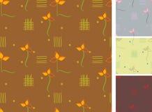 6 bezszwowy textill Obrazy Royalty Free