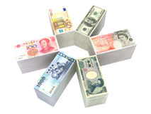 6 bills collection Royalty Free Stock Image