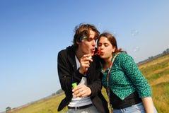 6 bubbles Στοκ εικόνες με δικαίωμα ελεύθερης χρήσης