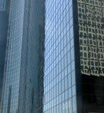 6 byggnader arkivbild