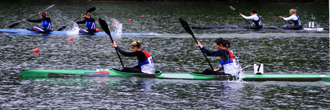 6 canoe Στοκ φωτογραφία με δικαίωμα ελεύθερης χρήσης
