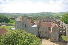 6 carisbrooke zamku Fotografia Royalty Free