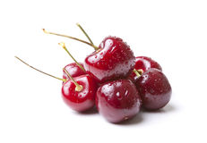 6 Cherries stock photo