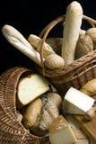 6 chlebów sera. Fotografia Royalty Free