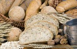6 chlebów ziarna Obrazy Royalty Free