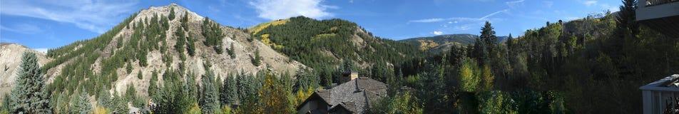 6 colorado berg fotografering för bildbyråer