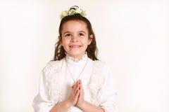 6 communion premier Image libre de droits
