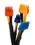 6 connecteurs images libres de droits