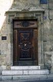 6 dörr france Royaltyfri Fotografi