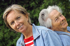 6 daughter mother Στοκ φωτογραφία με δικαίωμα ελεύθερης χρήσης