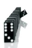 6 Domino 免版税图库摄影