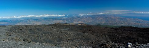 6 Etna mt Obrazy Royalty Free