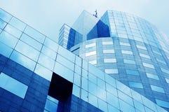 6 företags byggnader arkivfoto