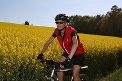 #6 faisant du vélo Photo stock
