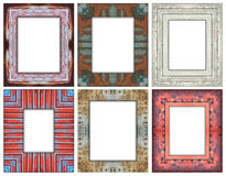 6 Frame 01. Home Modern Frame indoor painting for disign 6 pic royalty free illustration