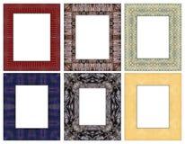 6 Frame 03. Home Modern Frame indoor painting for disign 6 pic stock illustration