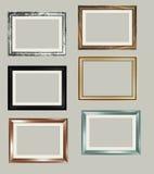 6 frames Imagens de Stock