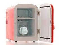 6 fridge miniaturowa czerwień Obraz Stock
