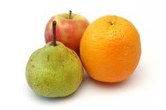 6 fruktserie Arkivbild