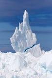 6 góra lodowa Fotografia Stock