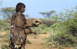 6 gens de l'Ethiopie Image libre de droits