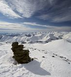 6 georgia berg Arkivbilder