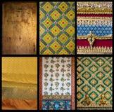 6 gold texture 05 Stock Photo