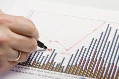6 grafiki dokumentów Obraz Stock