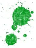 6 grunge splat 免版税库存图片