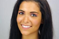 6 härlig headshot teen latina Arkivfoto