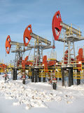 6 industries oleju Obrazy Royalty Free